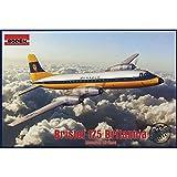 Roden 323 - Modellbausatz Bristol 175 Britannia Monarch Airlines, grau