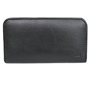 J Cover A3 Rich Leather Soft Carry Case Mobile Hand Pouch Cover Holder For Redmi 3SMi Black