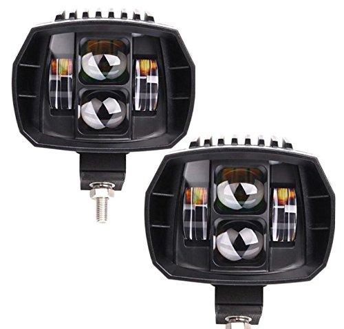 60W LED Arbeitsscheinwerfer, Auto Motorrad Scheinwerfer Spot Beam Combo Lichter Outdoor SUV Off Road Boot Fahrzeug Modifikation hohe Helligkeit Driving Beleuchtung, 12V 24V