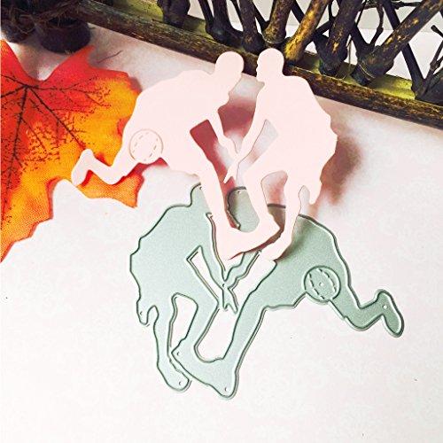 Manyo Metall DIY Scrapbooking Stanzformen Schablone, Basketball Form, Geeignet für Scrapbooking, Album Karte, Papierkarte, Präge Geschenk, Album, DIY Craft. -
