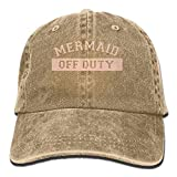 sunyly Meerjungfrau Off Duty Distressed Adult Cowboy Hut Baseball Cap verstellbare athletische benutzerdefinierte einzigartigen Hut für Männer und Frauen