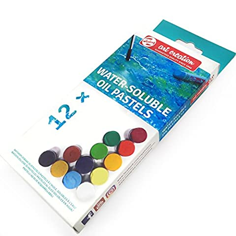 Royal Talens – Art Création de Aquarellable pastels à l'huile – Lot de 12