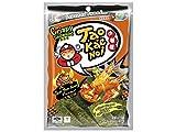 Taokaenoi Super Crisp Seaweed, Knusprige Seealgen zum Knabbern 3er Pack (Tom Yum)