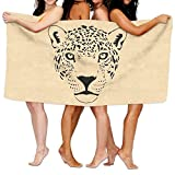 YSEFHX Unisex Cougar Cat Puma Panther Beach Towels Washcloths Bath Towels for Teen Girls Adults Travel Towel Pool and Gym Use 31x51 inches