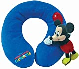 Disney Home Cuscino da Viaggio Topolino Club House blu