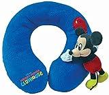 Disney Cuscino da Viaggio Topolino Club House blu