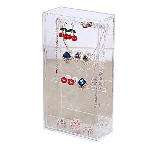 XL® Orecchino gioielli casella di visualizzazione gioielli gioielli di stoccaggio espositore titolare F021