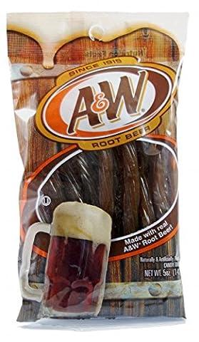 Kennys A&W Root Beer Fruchtgummi Schnüre 142 g