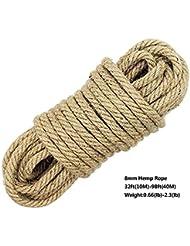 Cuerdas y correas deportes y aire libre for Soga de canamo