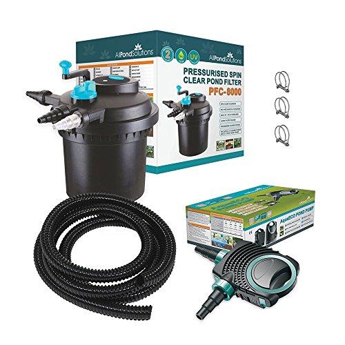 All Pond Solutions PFC-50000 koï filtre de bassin sous pression avec stérilisateur UV