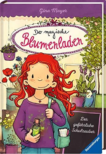 Der magische Blumenladen, Band 9: Der gefährliche Schulzauber - Blumen-buch