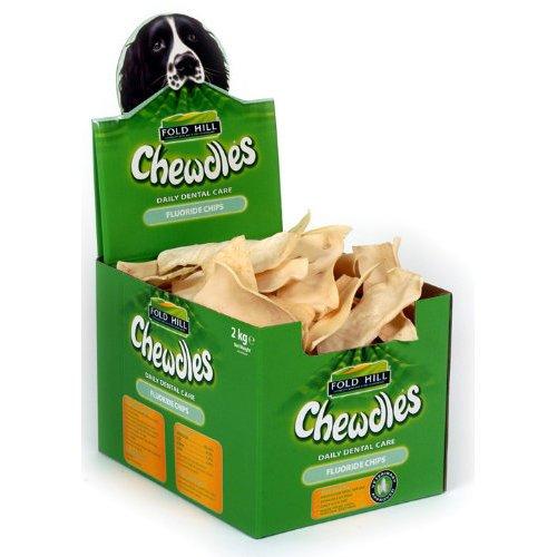 Artikelbild: Foldhill Chewdle Chips Flouride Dog Treats x 5