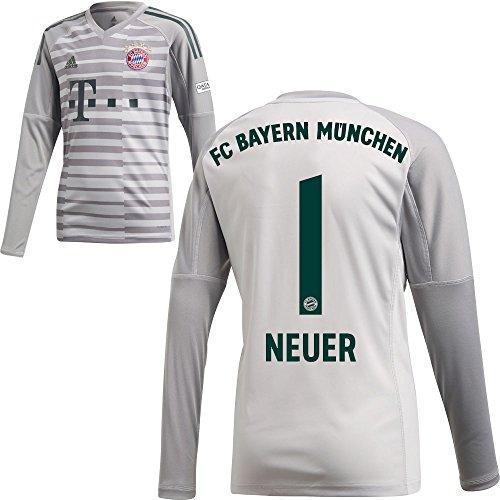 dec2933114109d FanSport24 Adidas FCB FC Bayern München Heim Torwarttrikot 2018 2019 Kinder  Neuer 1 Gr 128