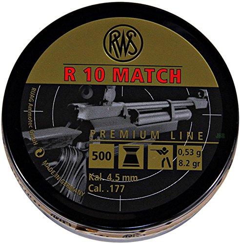 Preisvergleich Produktbild RWS R 10 Match Rifle 4.50mm 0, 53g / 8.2gr (500pz)