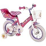 "12 Zoll 12"" Kinderfahrrad Fahrrad Mädchenfahrrad Disney Minnie Mouse Maus Bike VOLARE"