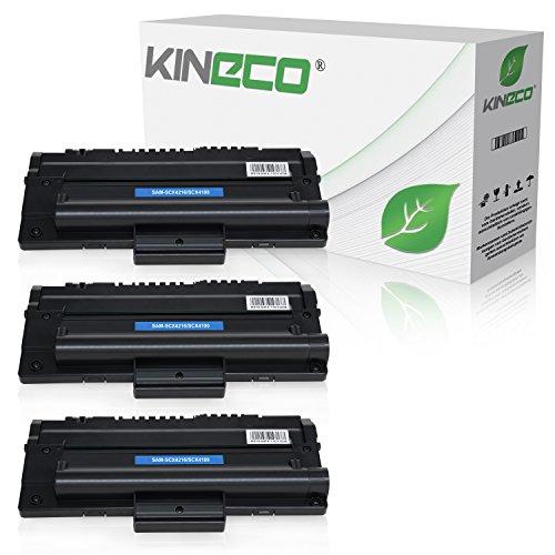 3 Toner kompatibel zu Samsung SCX-4216FN 4214F 4166 4016 SF-560 565P 750 755P CF 560 750 Msys 7500 Series 755P -SCX-4216D3/ELS - Schwarz je 4.000 Seiten -