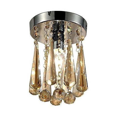 Ouku neues Design meistverkauften Luxuxkristalldeckenleuchter Licht Kronleuchter/Unterputz - Kristall - Zeitgenössisch - Wohnzimmer/Esszimmer/Kinderzimmer/Schlafzimmer/Küche/Eingangsraum/Korridor/Garage