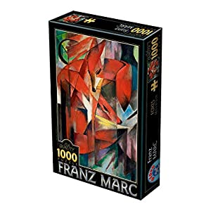 Unbekannt D de Toys 1-Puzzle 1000Franz Marc