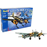 Revell Junkers Ju88 A-4 Bomber, Kit de Modelo, Escala 1:72 (4672) (04672)