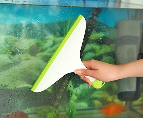 Handy Cleaning Hand-Held Wiper with Non-Slip Handle - For Cleaning Window Glass, Tiles, Kitchen Table Platform, Car Auto Windshield