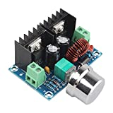 haljia xl4016e1DC 4–40V zu DC 1,25–36V 8A Buck Converter Spannungsregler 36V 24V 12V bis 5V High Power Effizienz Step Down Converter Netzteil, mit verstellbarer Knopf, für Auto Audio LED Display
