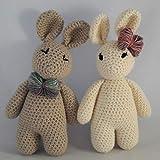 Crochet Pattern - Bunny Rabbit PDF Download - Learn to Crochet Complete Beginner Pattern