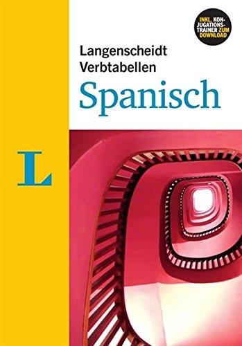 Langenscheidt Verbtabellen Spanisch - Buch mit Software-Download