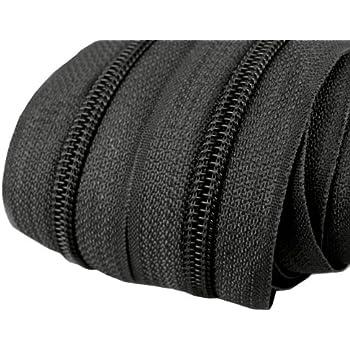 5 mm 20 Meter endlos Reißverschluss dunkelrosa