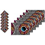 Ardour Homes Pvc Material Dinner Table Kitchen Placemats High Grade 6 Pieces (L:17, W:11 In Inches), 6 Pieces Table Coasters (L:4, W:4 In Inches)