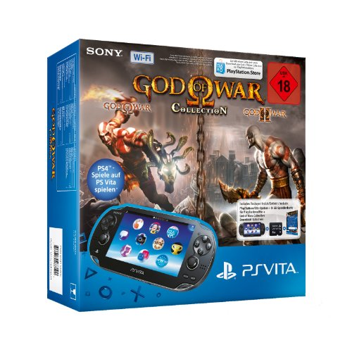 Sony PlayStation Vita (WiFi) inklusive God of War Collection (DLC) + 8 GB Speicherkarte