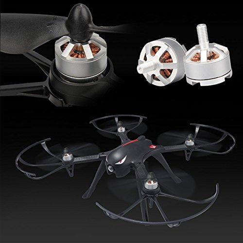 MJX B3 Profi Quadrocopter Drohne mit Aktionkamera-Halterung für Gopro Bürstlose Motoren 6A Elektrizitätsregulierung 2.4G Fernsteuer 4CH 6-Achsen Gyro 3D Rollen Funktion Drone für Profi Training Standard Version ohne Kamera und Gimbal - 5
