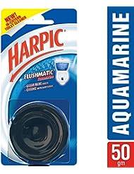 Harpic Flushmatic In-Cistern Toilet Cleaner (Aquamarine) - 50 g