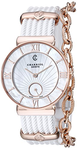 charriol-st-tropez-st30pi174010-30mm-stainless-steel-case-white-rubber-anti-reflective-sapphire-wome