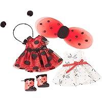 Gotz 3402963 Combo Ladybug XS - Dolls Clothing / Accessory Set - Suitable For Standing Dolls Size XS (Just-Like-Me Gotz Dolls 27 cm)
