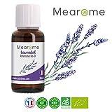 Lavendelöl BIO - Ätherisches Öl 100% Naturrein - Zertifiziertes BIO-Produkt - Duft-Öl Lavendel 30ml, Aroma für Diffuser, Aromatherapie - Entspannungsöl für eine gute Nacht & erholsamen Schlaf