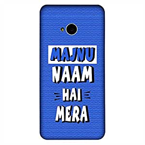 Bhishoom Designer Printed Back Case Cover for HTC M7 :: HTC One M7 (Humor :: Student :: Comic :: Majnu :: Typography)