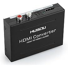 Musou Convertitore da Hdmi a Hdmi + audio, HDMI audio