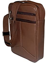 Style98 Brown Genuine Leather Travel Passport Neck Pouch For Men,Boys,Girls & Women