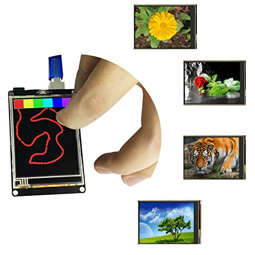 KEYESTUDIO R3 Pantalla Táctil TFT DE 2,8 Pulgadas con Tarjeta SD LCD Módulo para Arduino MEGA2560 R3
