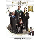 Simplicity Creative Patterns US8723A Harry Potter Unisex Kostüm