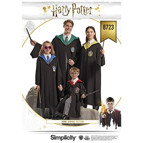 Patterns US8723A Harry Potter Unisex Kostüm ()