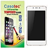 Casotec 2.5D Curved Edge Tempered Glass Screen Protector for Micromax Canvas Sliver 5 Q450