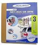 Montblanc 205525 Portabici da Portellone Rider High, 3 Bici, Nero