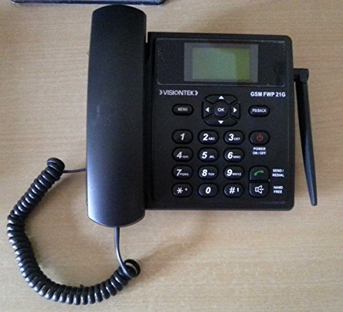 Buy VisionTek 21G Fixed Wireless GSM Desk Phone on Amazon