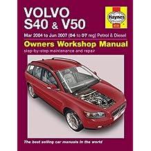 Volvo S40 & V50 Service and Repair Manual (Haynes Service and Repair Manuals)
