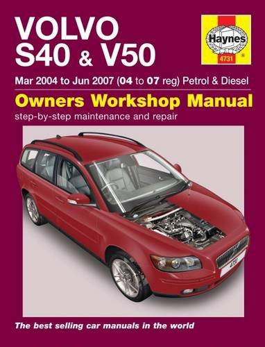 volvo-s40-v50-service-and-repair-manual-haynes-service-and-repair-manuals