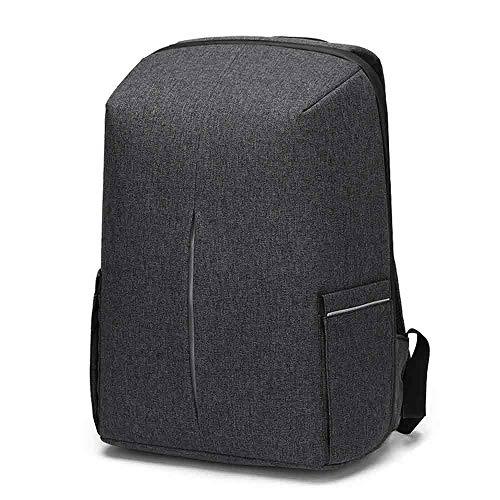 Business Laptop Rucksack wasserdichte Anti Diebstahl Backpack 15,6 Zoll mit Passwortsperre USB Ladeanschluss College Daypack Outdoor Reise Tasche für Männer Frauen Damen Herren - Dunkelgrau