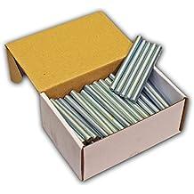 Stabilo-Sanitaer 100x Gewindestifte M8 x 100 mm Gewindestäbe Gewindestangen Gewindebolzen Stahl DIN 976 verzinkt