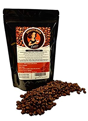 Emily's Bean Coffee - 100% Colombian Arabica Coffee - Whole Bean Coffee 250g bag - Carefully Medium Roasted - Best Quality Gourmet Coffee Beans - Rich Taste, Unsurpassed Aroma - Espresso Coffee Beans from Emily's Coffee