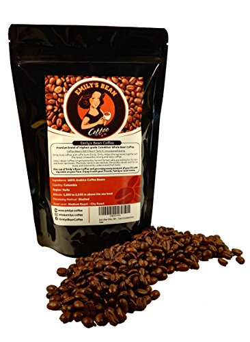 Emily's Bean Coffee - Caffè 100% Arabica Colombiano – Caffè in Grani...